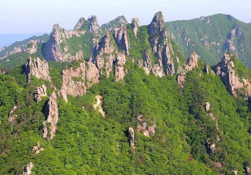 Parque Nacional Seoraksan  - Coréia do Sul