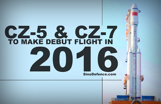 FEATURED | CZ-5 and CZ-7 to Make Debut Flight in 2016