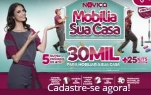 Cadastrar Promoção Noviça 2019 Mobilia Sua Casa Prêmios 30 Mil e 25 Kits Noviça - Chris Flores