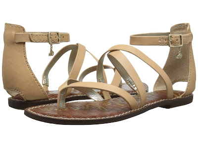 Sam Edelman Gilroy Gladiator sandals for only $45 (reg $100)!