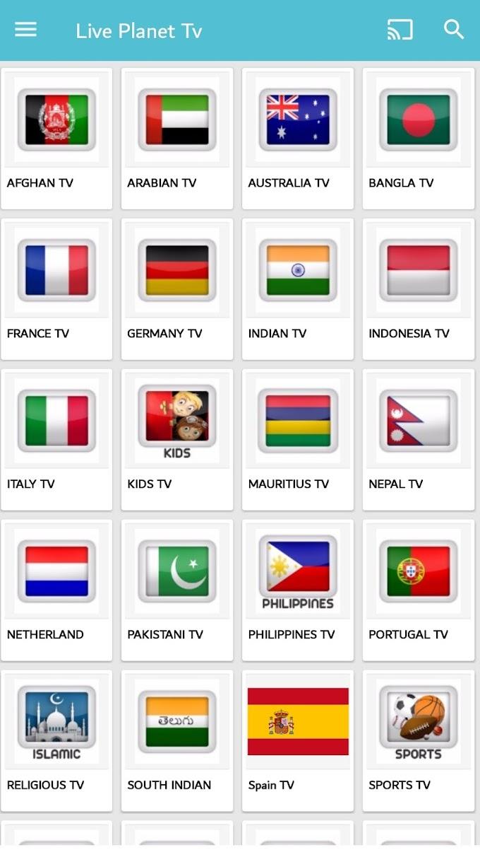 Best Live Tv Mobile App - Live Planet Tv App