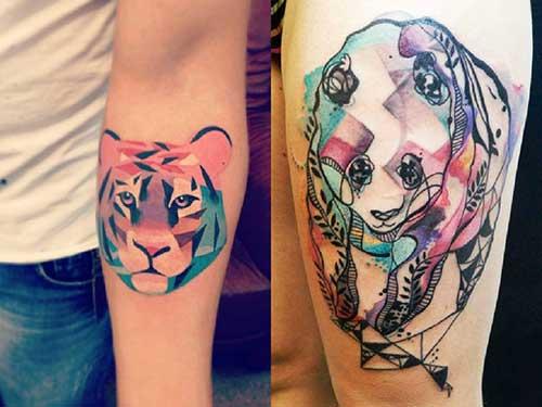 Ótima ideia para o tigre, que pode ser aplicada em vários animais.