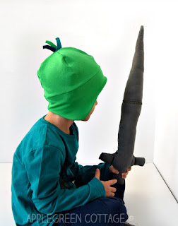 diy knight costume and helmet