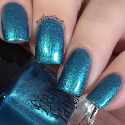 Fiendish Fancies Serena Joy swatch from the Survive collection