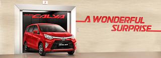 Spesifikasi dan Harga Toyota Calya 2018