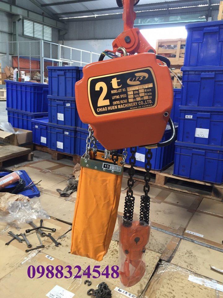 Pa lăng điện xích ITS CH-020H 2000kg