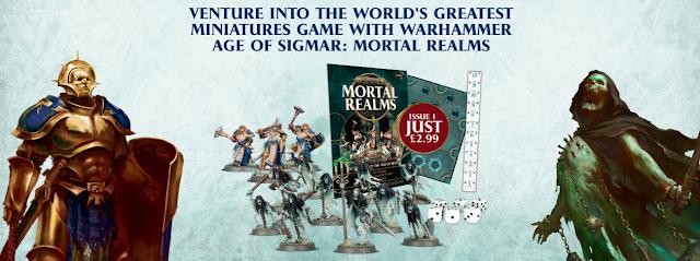 Primera entrega Warhammer: Mortal Realms