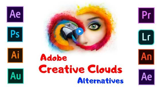 TOP 5 ADOBE CREATIVE CLOUDS ALTERNATIVES SOFTWARE