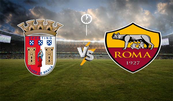 مشاهدة مباراة روما و سبورتينغ براغا بث مباشر بتاريخ 25-02-2021 الدوري الأوروبي