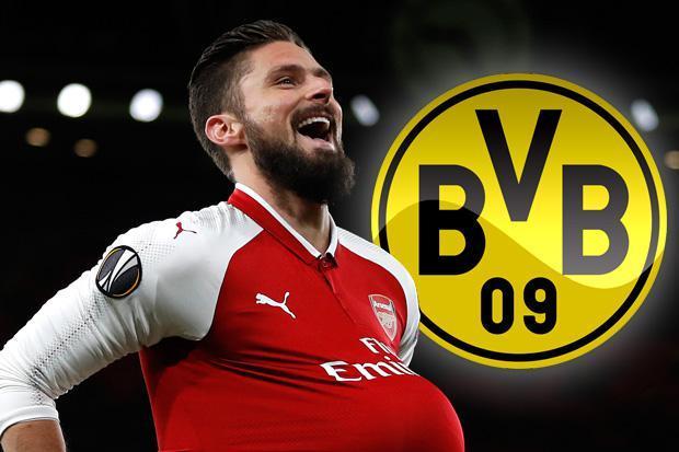 Borussia Dortmund keen on Olivier Giroud