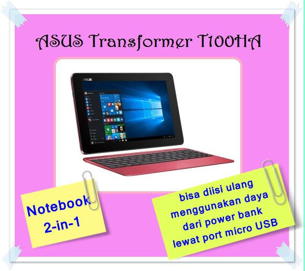 ASUS TRANSFORMER T100HA NOTEBOOK 2 IN 1