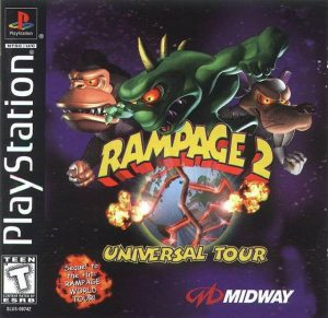 Download Rampage 2: Universal Tour (1999) PS1