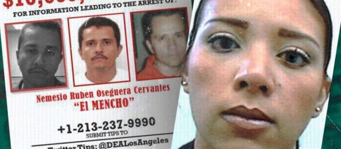 """Por Casualidad así detuvo la DEA a la hija de """"El Mencho"""" líder del CJNG, acudía a la audiencia de su hermano """"El Menchito"""" cuando fue detectada"""