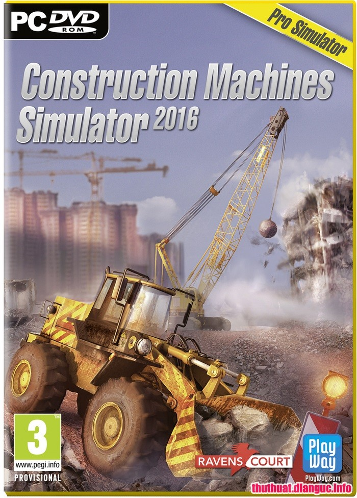 Download Game Construction Machines Simulator 2016 SKIDROW