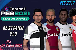 RZ Patch Season 2021 AIO + Update V1 - PES 2017