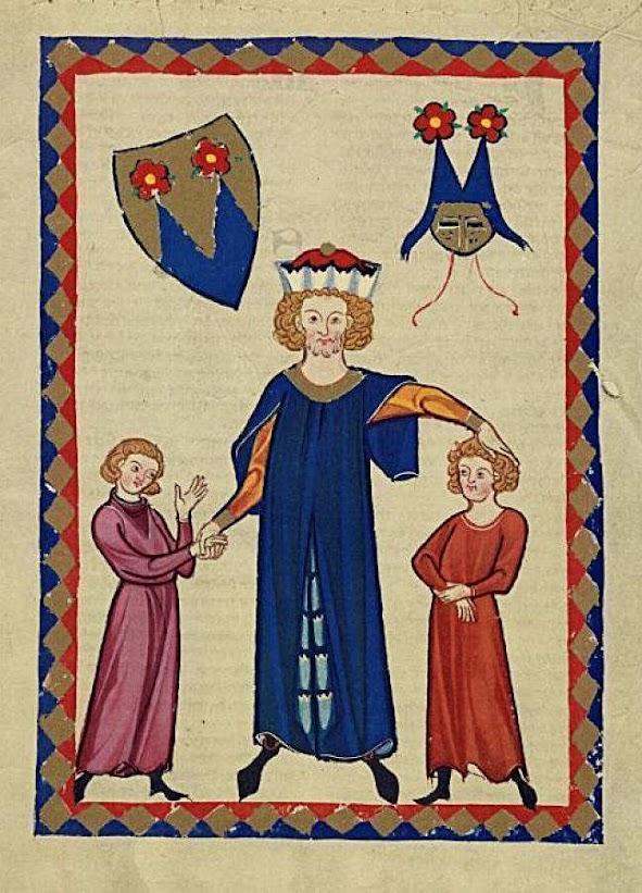 Frederico de Sonneburg. Codex Manesse