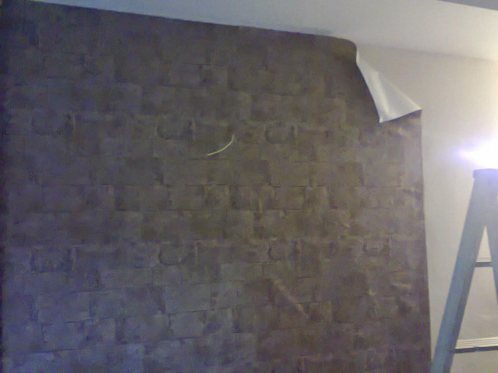 Jom diy rumah anda diy buat sendiri kabinet tv build - Cara pasang wallpaper ...