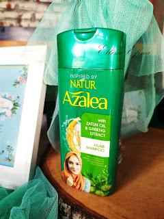 azalea ginseng shampoo