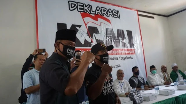 Gatot Nurmantyo Hadiri Deklarasi KAMI Jateng-DIY di Kampung Jokowi