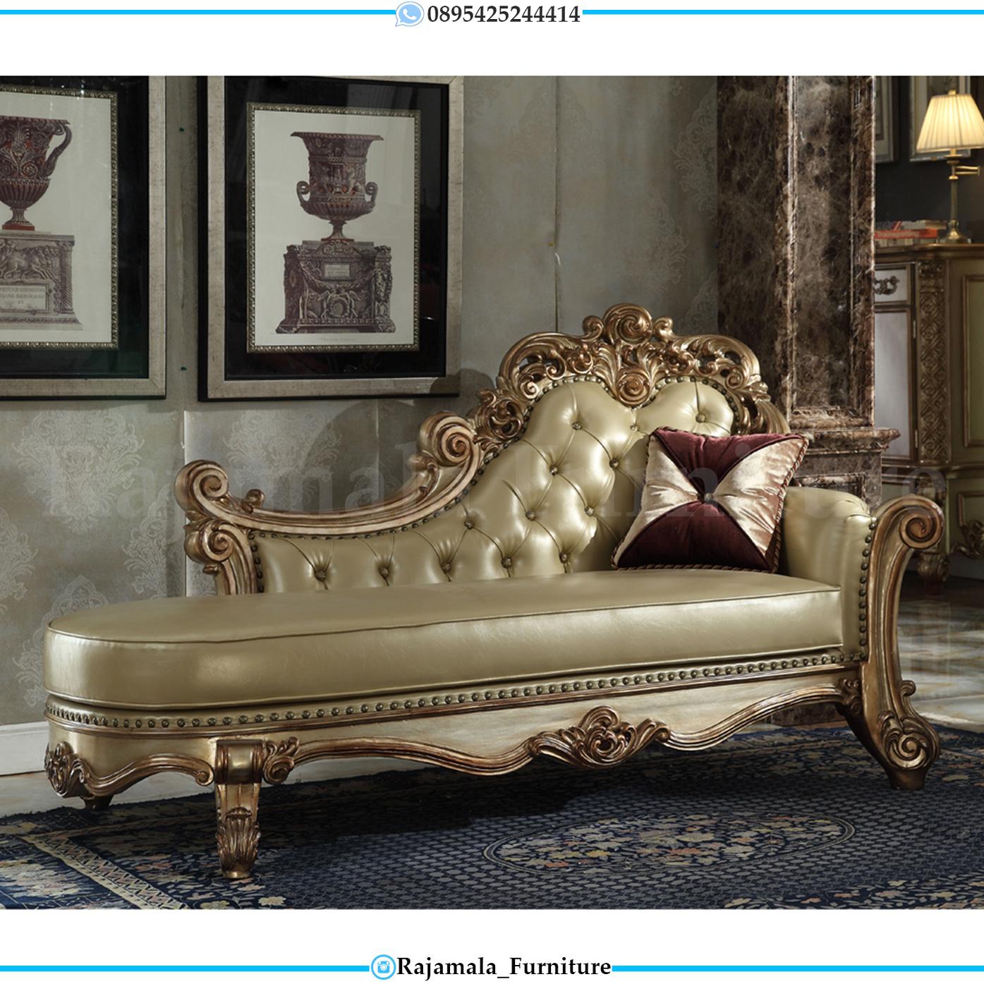 Harga Sofa Malas Mewah Ukiran Jepara Golden Luxury Color RM-0027