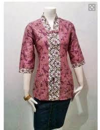 Model Seragam Baju Batik Guru Perempuan Terbaru
