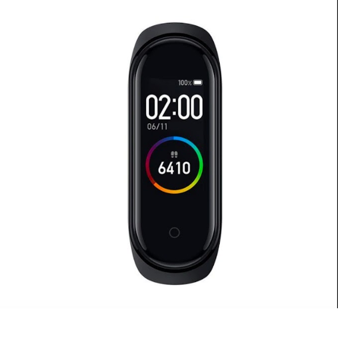 M4 WaterProof Smart Band Device  (Black Strap, Size : Free)