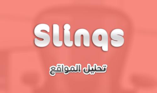 موقع slinqs لفحص و تحليل المواقع بالتفصيل