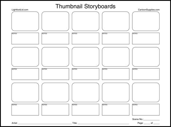 Storyboard paper | Essay Example
