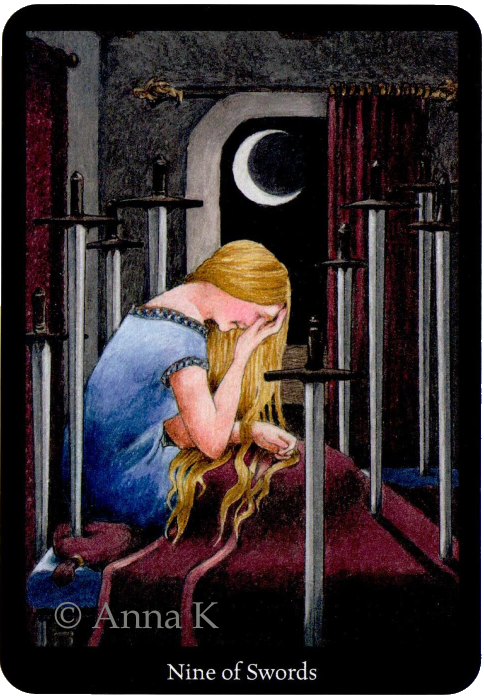 Anna K Tarot Nine of Swords