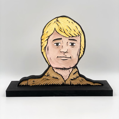 """San Diego Comic-Con 2021 Exclusive """"The Next 29"""" Star Wars Wood Block Art Show by Dustin Benzing x DKE Toys"""