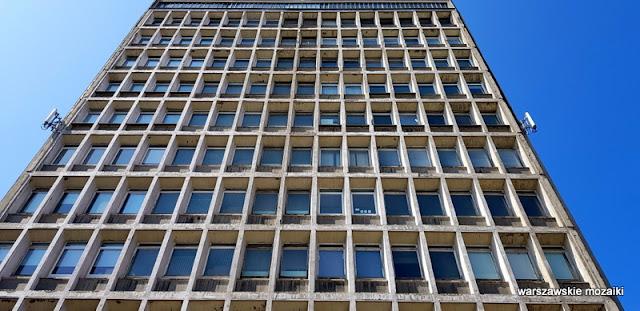 Warszawa Warsaw Śródmieście architektura architecture modernizm lata 60