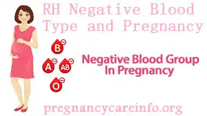 RH Negative Blood Type and Pregnancy