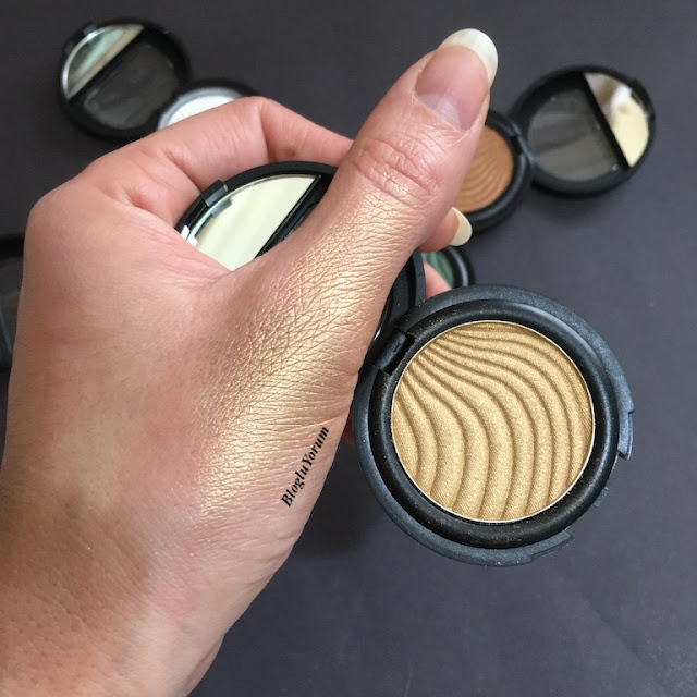 flormar metallic eyeshadow A003 Golden