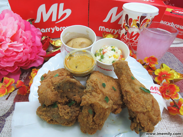 Marrybrown Egg-stra ONG Chicken Combo