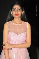 Actress Nidhisha Reddy Pos in Beautiful Pink Dress at Virus Telugu Movie Audio Launch .COM 0032.JPG