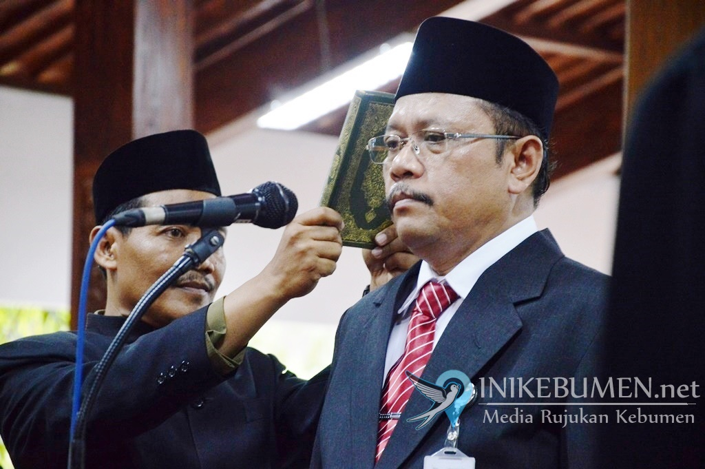 Sah! Ahmad Ujang Sugiono Resmi Jabat Sekda Kebumen
