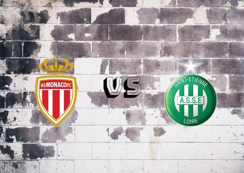 AS Monaco vs Saint-Étienne  Resumen
