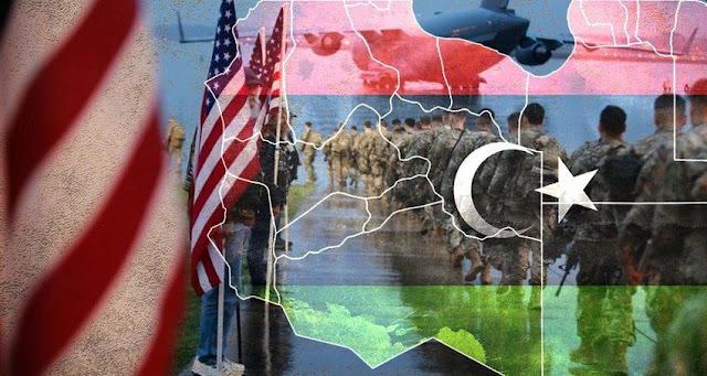 Ίσες αποστάσεις (σχεδόν) των ΗΠΑ μεταξύ Σάρατζ και Χαφτάρ
