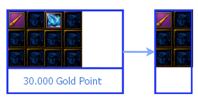 one piece marine defense Gold stick .xg process