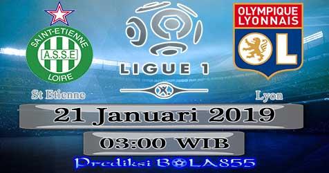 Prediksi Bola855 St Etienne vs Lyon 21 Januari 2019
