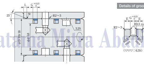 Sakagami STK Seal (STR) for Rotating Joint