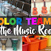 Color Teams in the Music Room