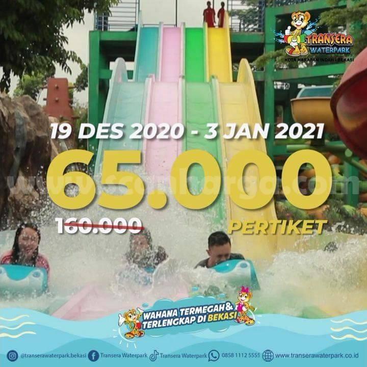 Promo Transera Waterpark Terbaru 19 Desember 2020 - 3 Januari 2021