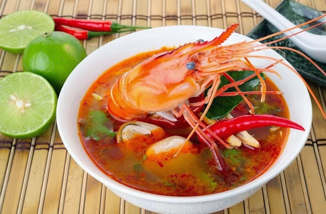 Tom Yam Jumbo Shrimp Recipe