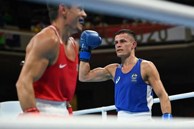 Australian boxer Harry Garside