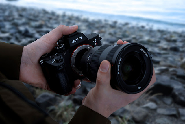 The reliable Sony A7R III with a lens