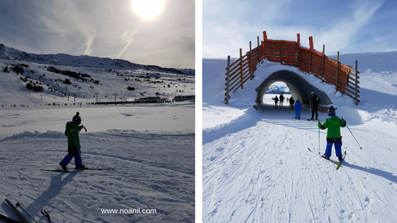 esqui-fons-nens-familia-beret-vallaran