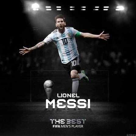 Messi Named Best FIFA Men's Player