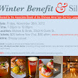 Event: Annual Winter Benefit & Silent Auction