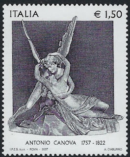 Italy 2007 250th Birth Anniversary of Canova